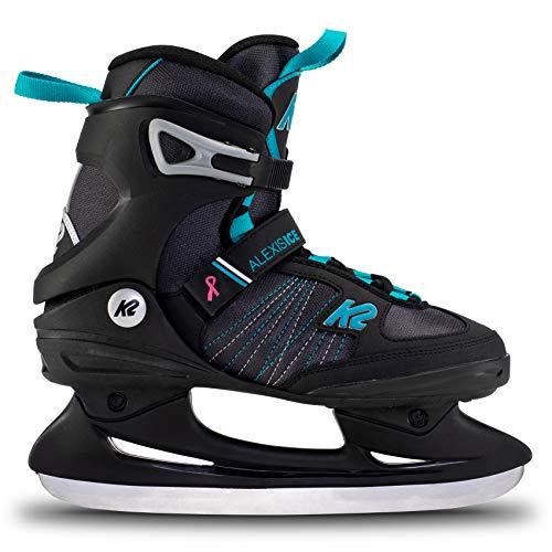 K2 Skates Damen Schlittschuhe Alexis Ice — Black – Blue — EU: 41.5 (UK: 7.5 / US: 10) — 25E0040